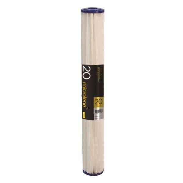 Microlene Poly Pleated Sediment Cartridge - 20PP20