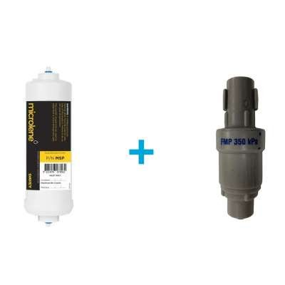 Under Bench Cartridge Plus Pressure Limiting Valve (Rain Water)