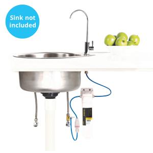 Installed Microlene underbench filtration system