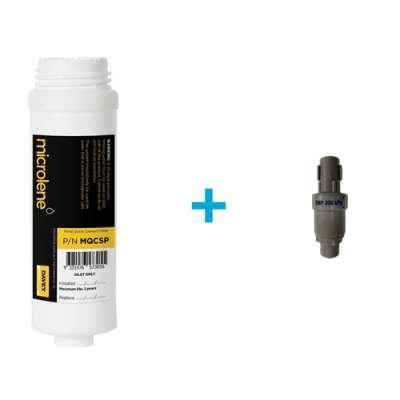 Microlene Under Bench Cartridge Plus Pressure Limiting Valve (Rain Water)