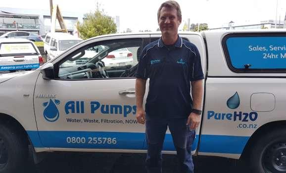 John Brockelbank, Pump Technician