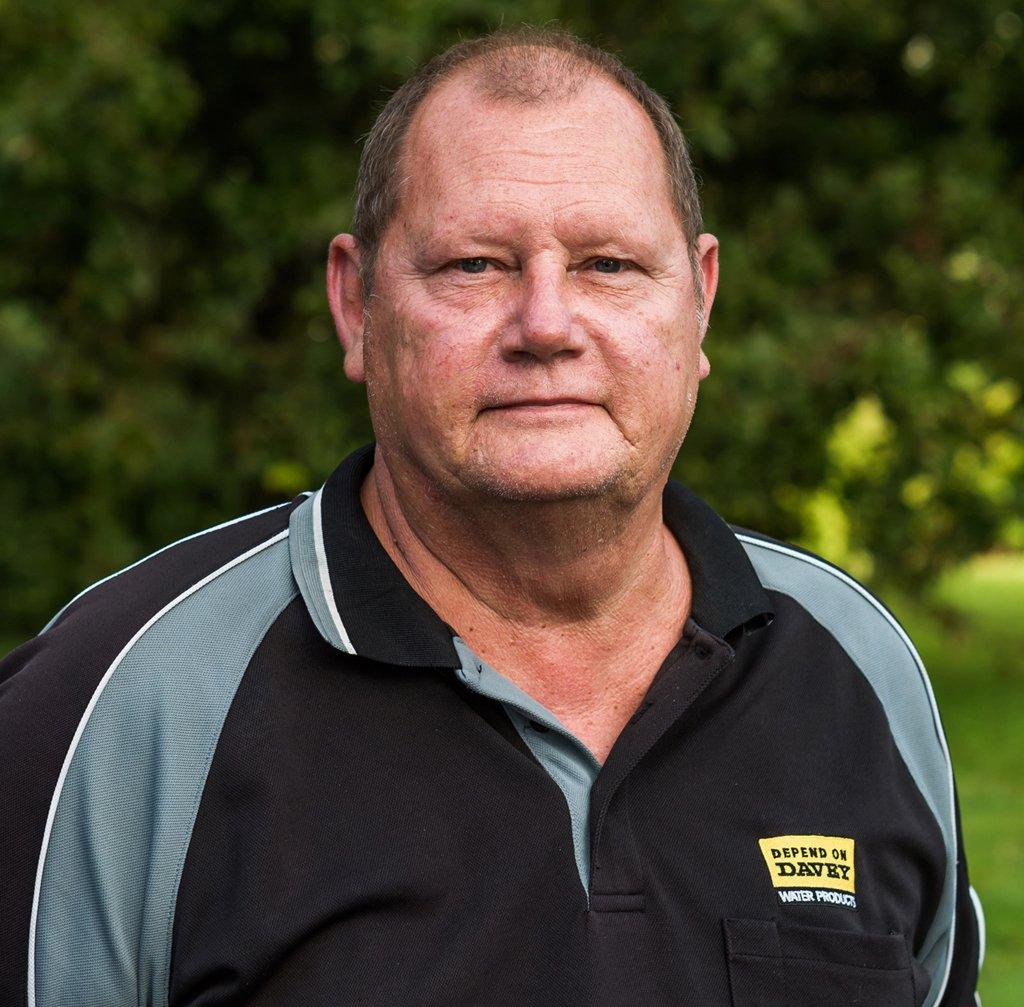 Bruce Jordaan, Technician - Pumps