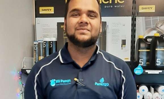 Rayhaan Ali, Cooler Technician