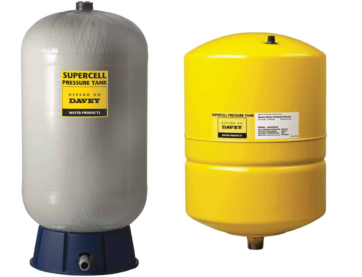 Davey pressure tanks