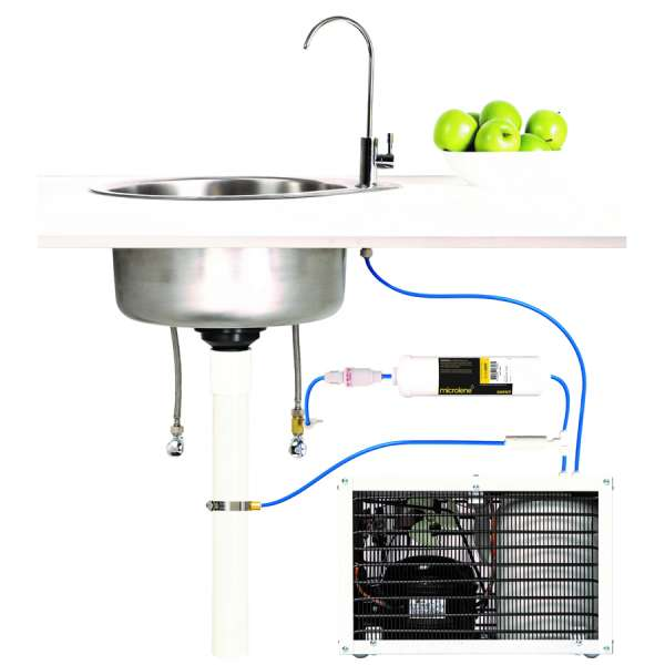 Under Bench Filtration Kit With Tap and Chiller