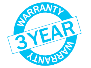 three-year warranty image