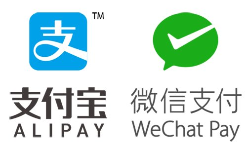 ALIPAY & WeChat Pay Logo