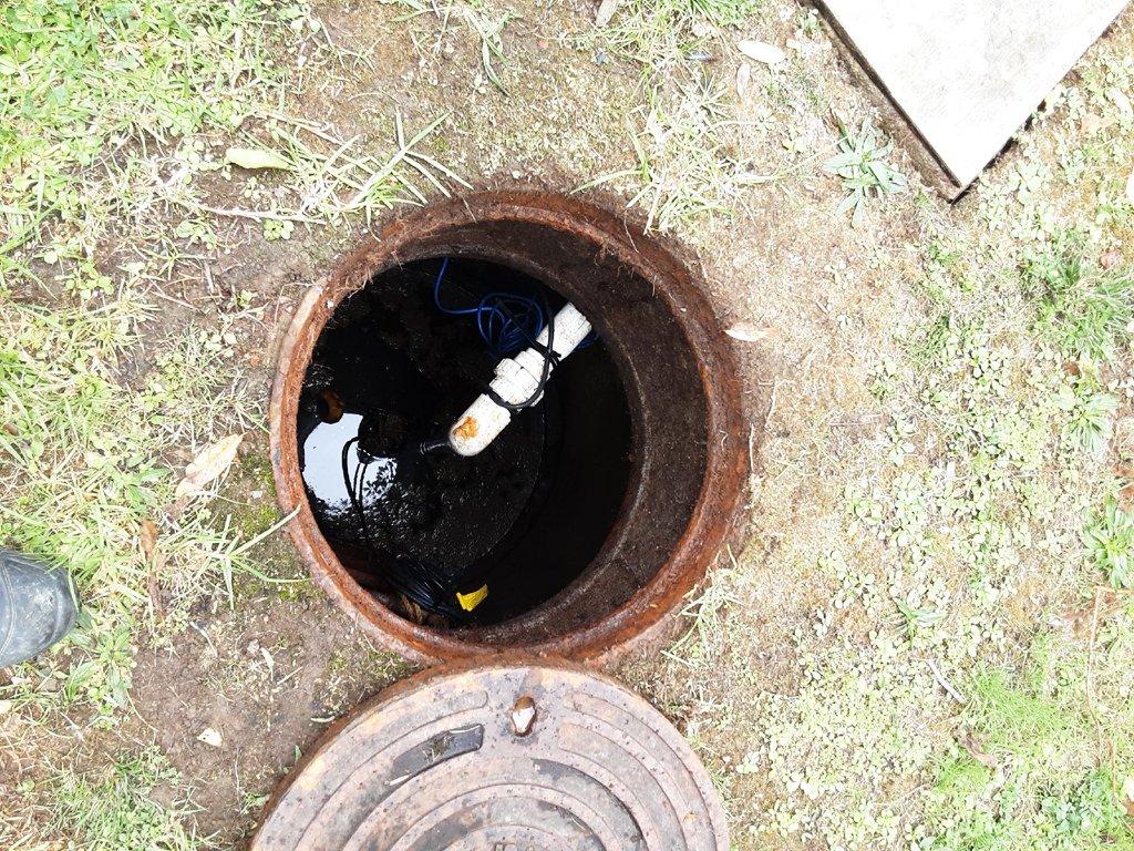 Sewerage access hole