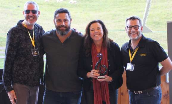 Its all smiles at the Davey Water Products Dealer Award