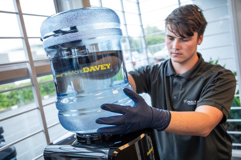 Microlene water cooler servicing