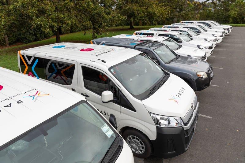 PASLR servicing fleet
