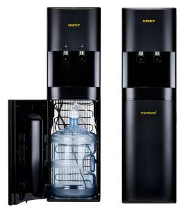 Davey Microlene bottom load bottle and plumbed in water coolers