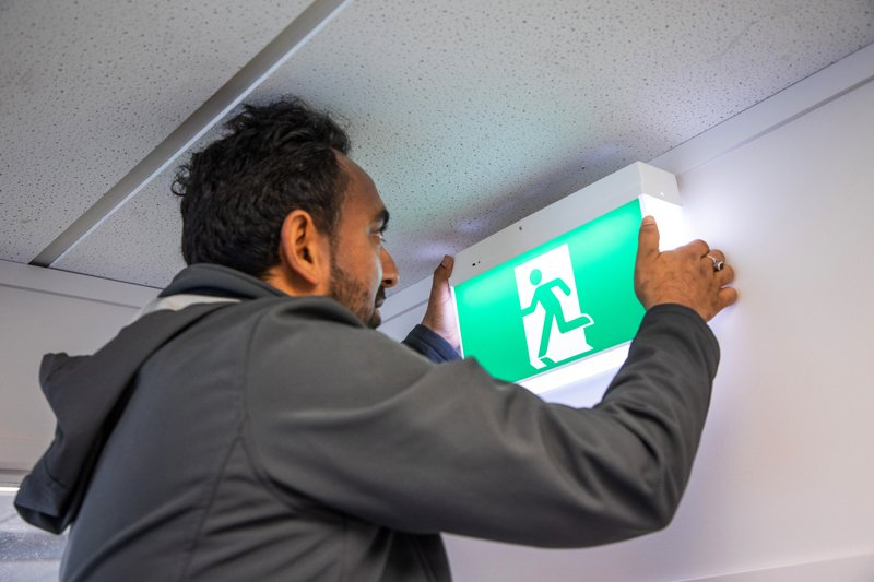 Emergency and exit light maintenance