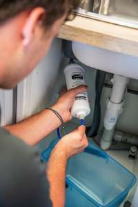 Installing a Microlene underbench water filter