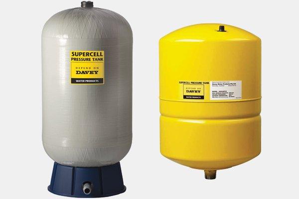 Davey pressure tanks pump support