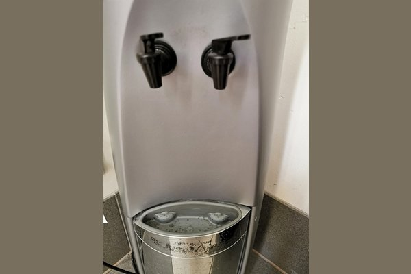 Dirty and unhealthy water cooler in need of cleaning - support water coolers
