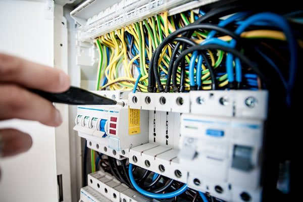 Electrical distribution board - support electrical