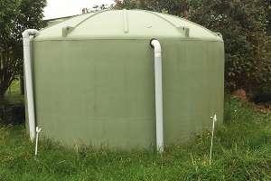 Household water tank