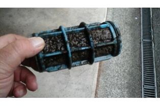 Inline filter screen - Support Pumps