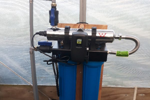 Microlene Centurion XS UV water treatment system - support water treatment