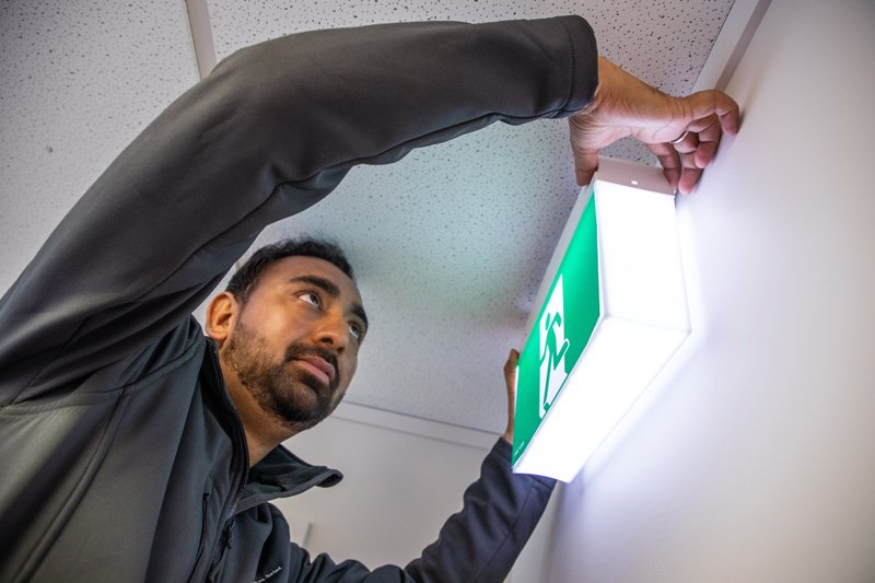 Emergency and exit light maintenance - emergency support lighting